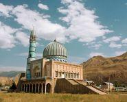 Voyage Kirghizistan - Mosquée de Naryn