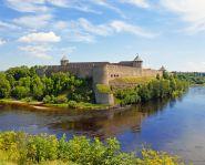 Voyage Estonie - Forteresse Divangorod