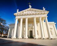 Voyage Lituanie -Voyage Lituanie - Vilnius église catholique