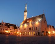 Voyage Estonie - Hôtel de ville Tallinn