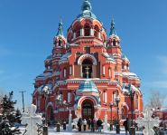 Voyage Russie, Baikal, Irkoutsk - Eglise Notre Dame de Kazan