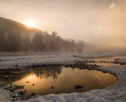 Voyage Kamtchatka - Sources chaudes Malki