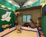 Visite musée du Baikal - Salle du musée