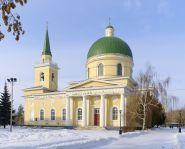 Voyage russie, sibérie, Omsk - La cathédrale cosaque de Saint Nicolas