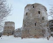 Voyage russie, anneau d'argent, Pskov - Forteresse d'Izborsk