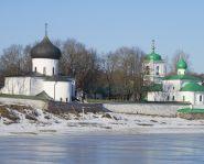 Voyage russie, anneau d'argent, Pskov - Monastère Mirojki