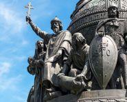 Voyage russie, anneau d'argent, Veliki Novgorod - Monument au millénaire de la Russie