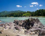 Voyage Altai - Rivière Katoun