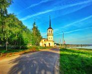 Voyage Veliki Oustioug - Eglise