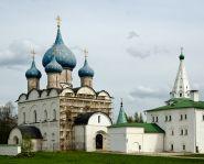 Voyage Russie, Anneau d'Or - La cathédrale de la Nativité - Souzdal