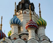 "Voyage Russie, Volga, Saratov - L'église ""Outoli mohi Petchali"""