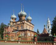Voyage Russie - Anneau d'Or - Kostroma - L'église de la Résurrection