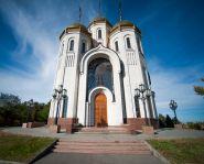 Voyage Russie, Volga, Volgograd - L'église de tous les Saints