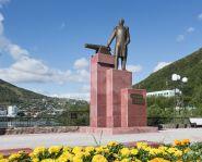 Voyage Russie - Kamtchatka - Monument en l'honneur de Zavoiko, à Petropavlovsk