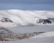 Voyage Russie, Péninsule de Kola - Le lac gelé de Kirovsk