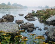 Voyage Russie - Sibérie - Littoral de rivière de Biya