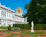 Voyage Saint-Pétersbourg - Tsarskoïe Selo