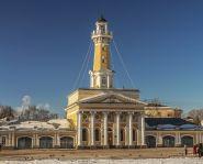 Voyage Russie, Anneau d'Or, Kostroma - La tour des pompiers