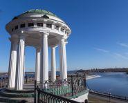 Voyage Russie - Yaroslavl - Vue sur la Volga