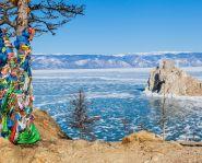 Lac Baïkal en hiver