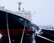 Voyage Russie, Péninsule Kola, Mourmansk - Brise-glace Lénine