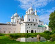 Voyage Russie, anneau d'or, Rostov le Grand - La cathédrale de la Dormition