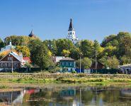 voyage russie, anneau d'or, Alexandrov - Vue panoramique de la ville