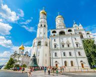 Voyage Russie, Moscou - Kremlin - Cathédrales - Clocher d'Ivan le Grand