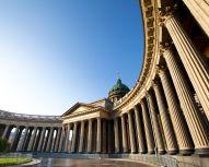 Voyage Russie, Saint-Pétersbourg - Cathédrale Notre Dame de Kazan