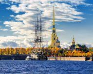 Saint Pétersbourg - Forteresse Pierre et Paul © Shutterstock