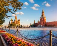 Moscou - Place Rouge © Shutterstock