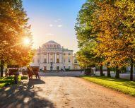 Saint Petersburg - Entrance to Pavlovsk Palace