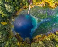 Kazan - Lacs bleus