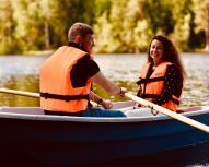 Voyage Russie - Husky, balade en barque