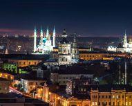 Kazan - Vue nocturne