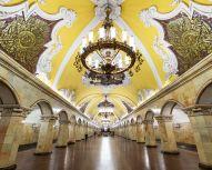 Voyage Moscou - Metro Komsomolskaya