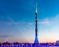 Moscou VDNKh - Tour Ostankino