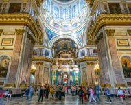 Voyage Saint-Pétersbourg - Cathédrale Saint-Isaac Intérieur