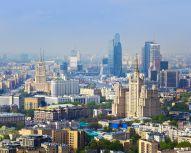 Voyage Moscou - Vue aérienne Moscou