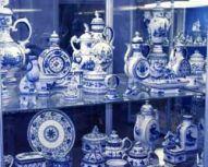 Visite autour de Moscou - Musée de Gzhel