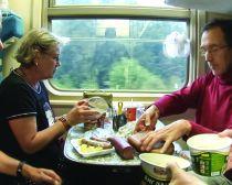 Voyage Transsibérien - Vie à bord du train