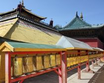 Mongolie - Temple bouddhiste