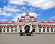 Voyage Russie, Transsibérien, Ekaterinbourg - La vieille gare ferroviaire