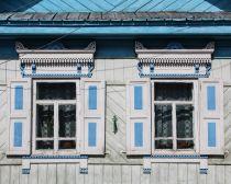 Voyage Russie, Baikal, Listvianka - Devanture d'une maison