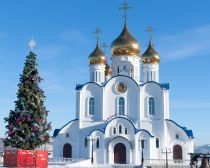 Voyage Russie, Kamtchatka, Petropavlovsk - Cathédrale de la Sainte Trinité