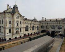 Voyage Russie, Transsibérien, Vladivostok - La gare