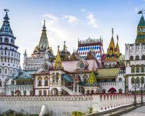 Moscou - Le marché d'Izmailovo