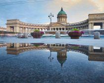 Cathédrale Notre Dame de Kazan à Saint-Pétersbourg
