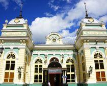 Voyage en Russie - Gare d'Irkoutsk
