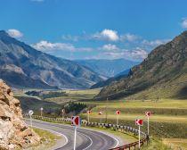 Voie de la Tchuya, Altai